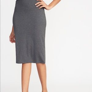 Apt 9 Below The Knee Jersey Skirt